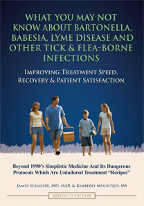What You May Not Know About bartonella, Babesia, Lyme Disease and Other Tick and Flea-Borne Infections